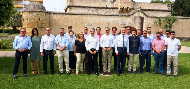 Constitución del Consejo de Alcaldes del PP de Málaga
