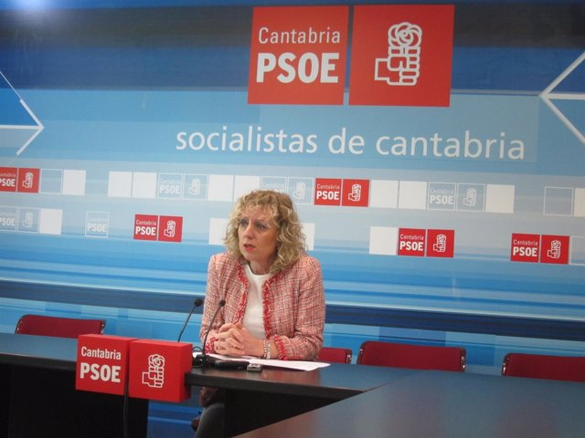 Rosa Eva Díaz Tezanos, secretaria general del PSOE cántabr
