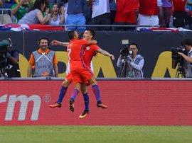 Chile y Rusia empatan en un partido preparatorio para la Copa Confederaciones