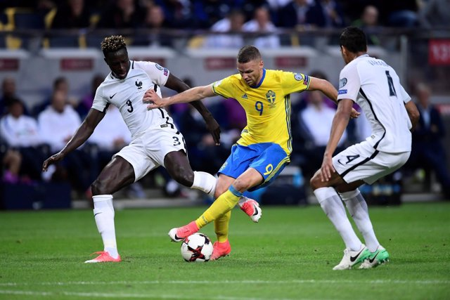 La selección francesa pierde ante Suecia