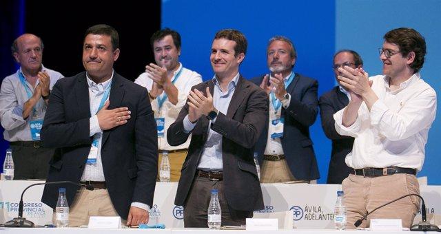 Carlos García, proclamado presidente del PP de Ávila