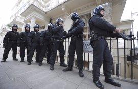 Scotland Yard detiene a un joven en un barrio de Londres por su presunta implicación en los atentados
