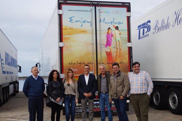 Segunda edición de la campaña 'Embajadores de Huelva'.