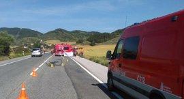 Fallece un ciclista atropellado en Erice de Iza