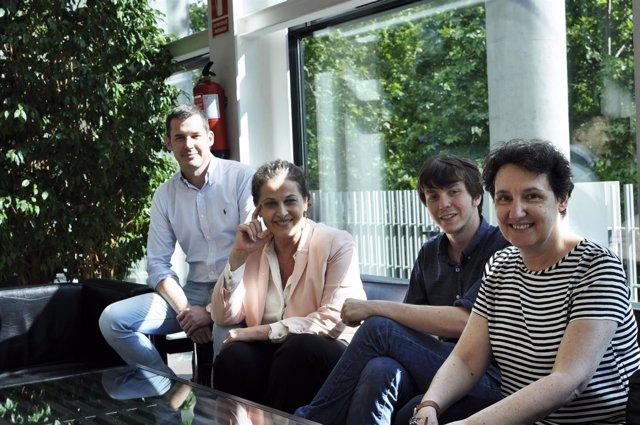 Juan Segovia, Carla Antonelli, Eduardo F. Rubiño y Beatriz Gimeno