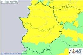 Los avisos por calor llegan al Norte de Cáceres y se extienden a toda la región el domingo