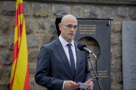 """Romeva afirma que el Govern """"está trabajando"""" para que el voto exterior sea posible en el referéndum"""