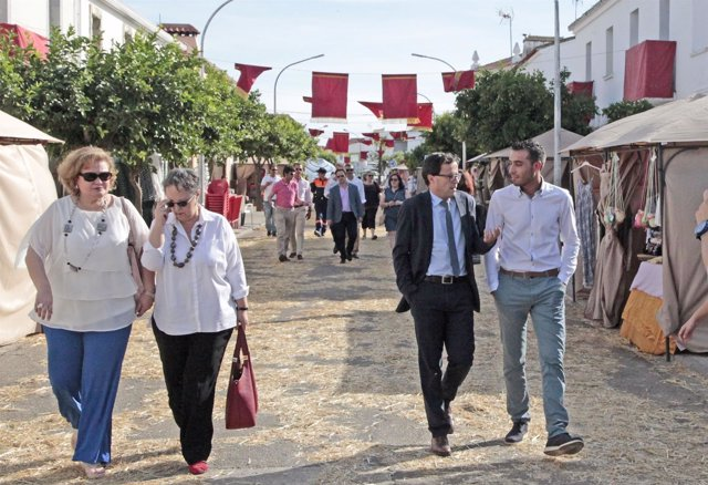 Miguel Ángel Gallardo visita Barbaño