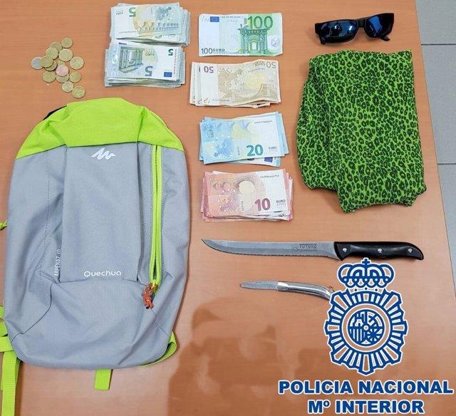 """Nota De Prensa: """"La Policía Nacional Detiene A Un Hombre Tras Atracar A Punta De"""