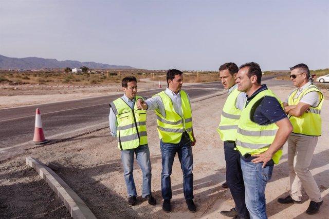 Las obras de la intersección entre Costacabana y El Alquián finalizan en julio.