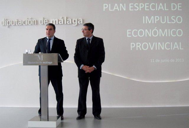 Elías Bendodo y Francisco Salado