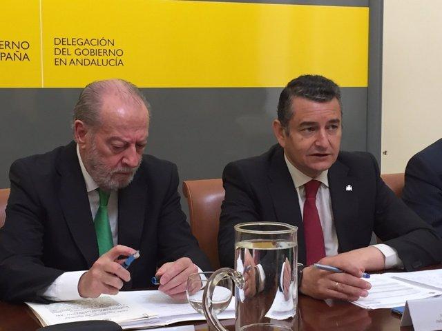 Reunión de Antonio Sanz con la FAMP