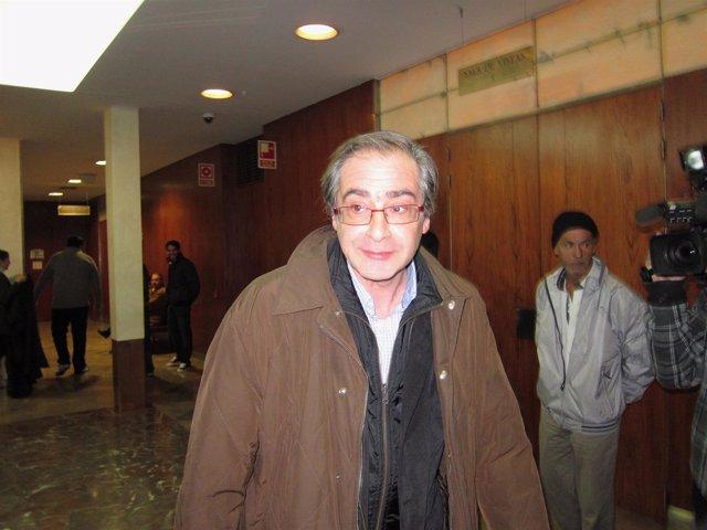 García de Coca, tras una comparecencia en el juzgado.