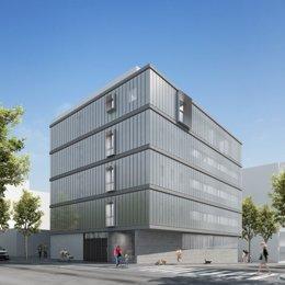 Proyecto del del nuevo Centro de Atención Primaria (CAP) Sants-Badal