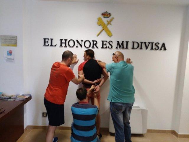 Salamanca. Detención fugado