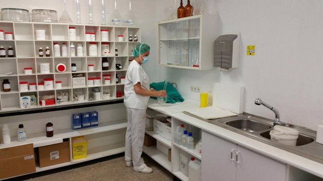 Servicio de farmacia del hospital de Yecla