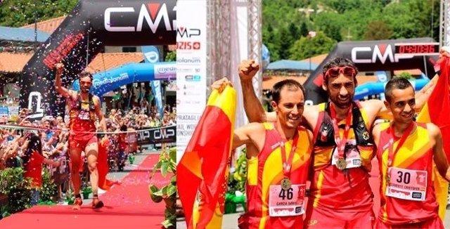 Equipo español Mundial de Trail