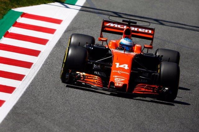 Fernando Alonso McLaren Montmeló Gran Premio España