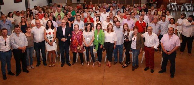 Encuentro municipalista del PSOE en El Carpio (Córdoba)