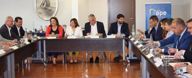 El presidente de la Región de Murcia