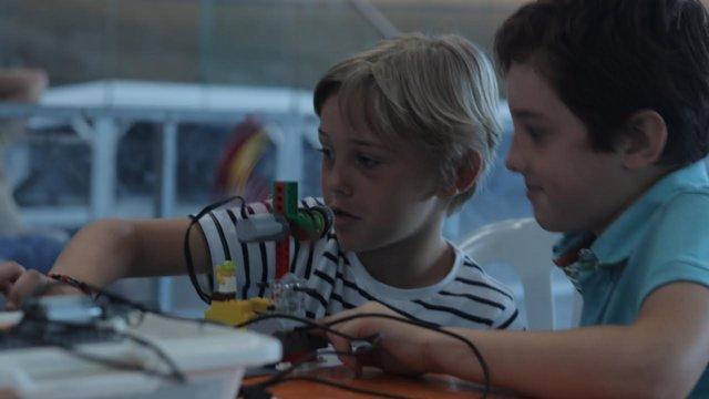 Jornada sobre robótica en el Palma Arena