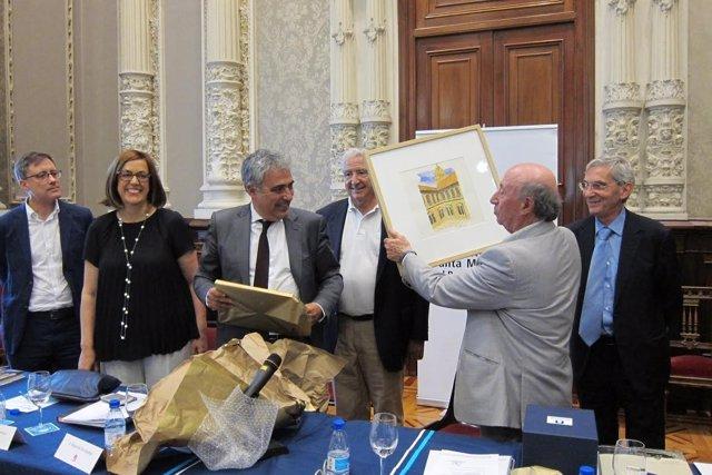 Palencia. Despedida de Peridis