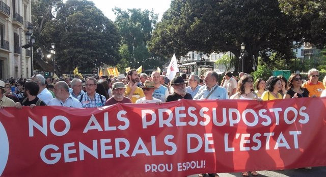 Crida pel finançament valencià