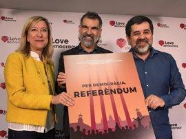 Entidades soberanistas se movilizan este domingo a favor del referéndum en un acto que prevén multitudinario