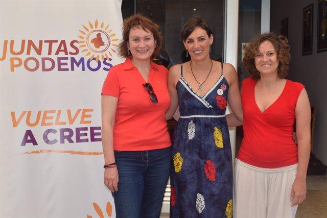 Lola Sánchez, eurodiputada de Podemos