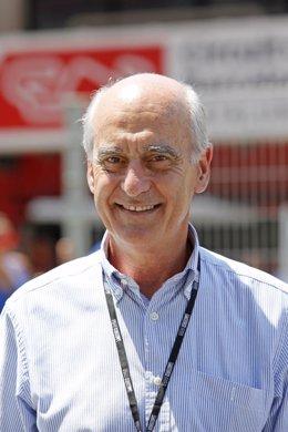 El presidente del Circuit de Barcelona-Catalunya, Vicenç Aguilera
