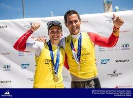Echávarri y Pacheco, oro en la Copa del Mundo de Santander