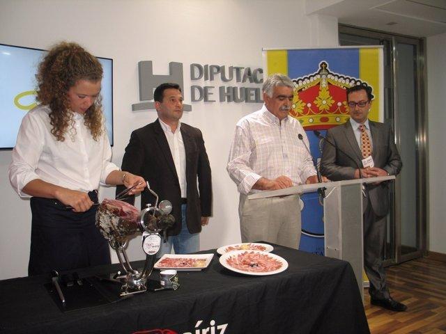 Presentan el VI Concurso Nacional de Cortadores de Jamón.