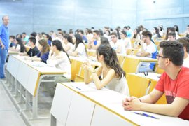 Más de 1.500 alumnos se examinan de Selectividad en la UPCT a partir de este lunes