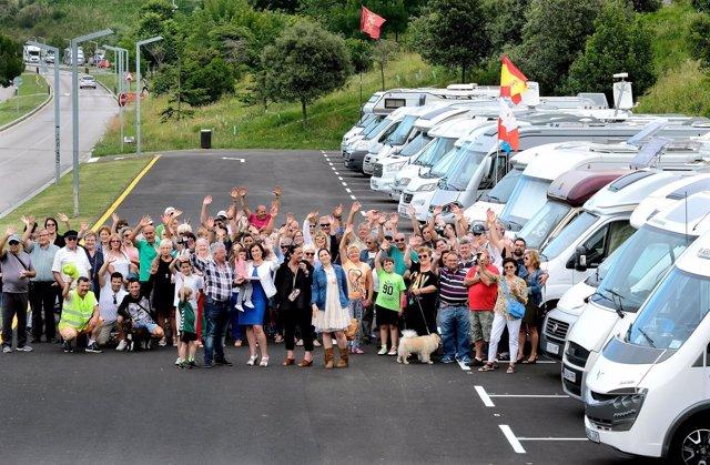 Nuevo área para autocaravanas en Santander