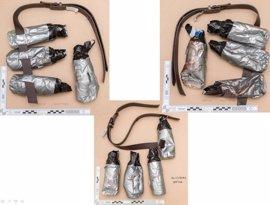 La Policía británica divulga imágenes de las bombas falsas usadas por los terroristas del puente de Londres