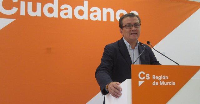 El diputado de Ciudadanos, Miguel Garaulet
