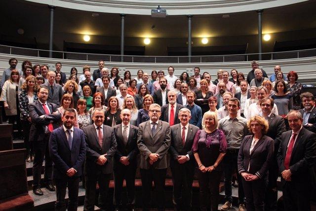 Rectores miembros del G9 de Universidades