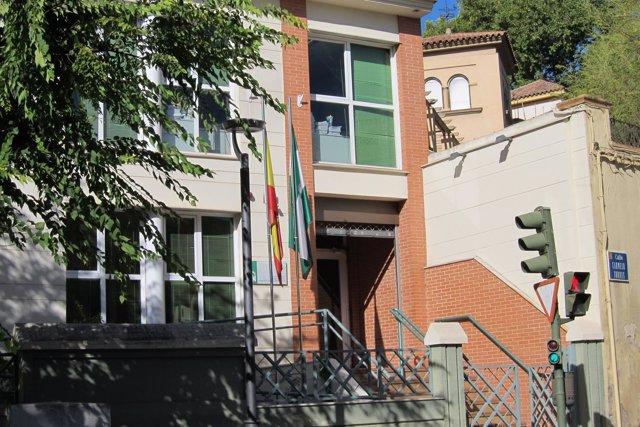 Edificio que alberga el Penal número 4 de Jaén