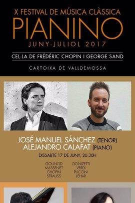 El Festival Pianino de Valldemossa ofrece tres conciertos en su décima edición