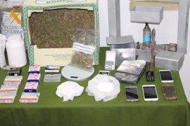 Desmantelado en Pozoblanco (Córdoba) con cinco detenidos un punto de adulteración y distribución de cocaína