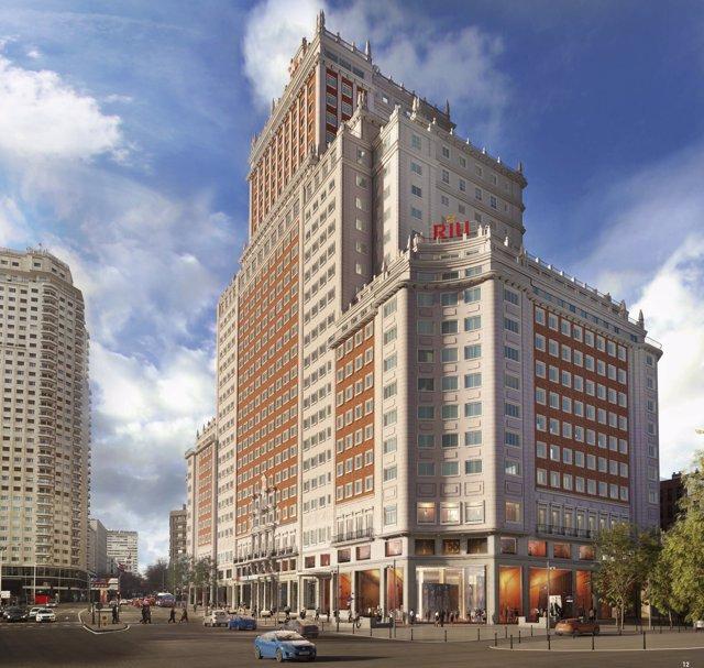 Hotel Riu Edificio España