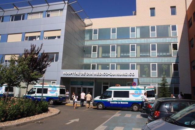 Fachada hospital Mancha Centro