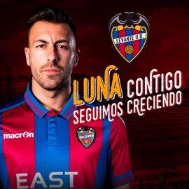 El Levante ficha al lateral Antonio Luna