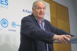 """El PP reconoce que será """"muy complicado"""" incorporar la enmienda de Valdecilla a los PGE"""