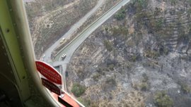 Estabilizado el incendio forestal en El Granado (Huelva)