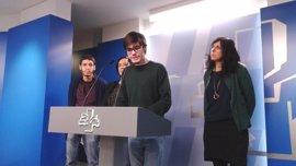 """Podemos Euskadi defiende que la moción de censura servirá para que """"el partido más corrupto de Europa"""" rinda cuentas"""