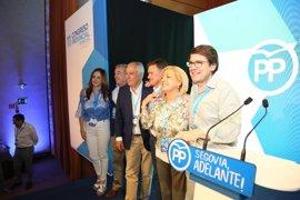 Paloma Sanz, presidenta del PP de Segovia con el 94,75% de los votos