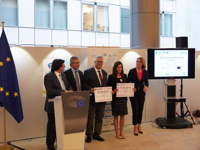 La empresa canaria APSU, premiada en los 'StartUp Europe Awards'