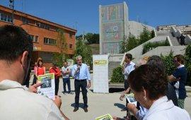 El PRC propone cubrir parcialmente la pasarela de la Peña del Cuervo en Santander