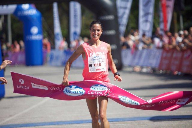 Elena Loyo Carrera de la Mujer Central Lechera Asturiana 2017 Vitoria-Gasteiz